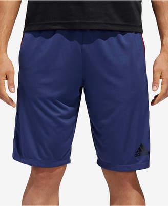 "adidas Men's Design 2 Move 3 Stripe 10"" Shorts"