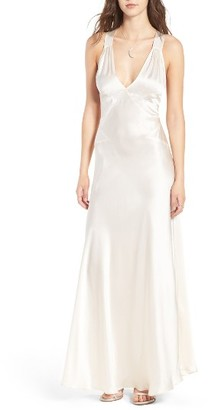 Women's Majorelle Brooke Silk Maxi Dress $348 thestylecure.com