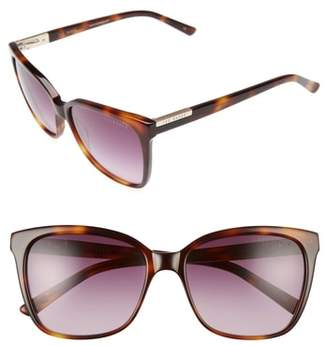Ted Baker 54mm Gradient Lens Square Sunglasses
