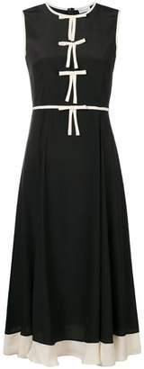 RED Valentino bow-front midi dress