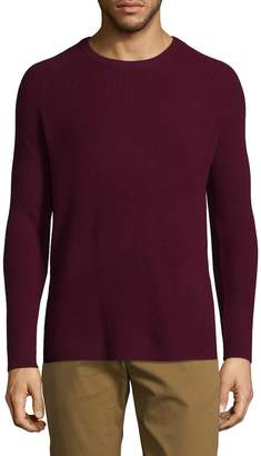 Theory Men's Ribbed Cashmere Pullover