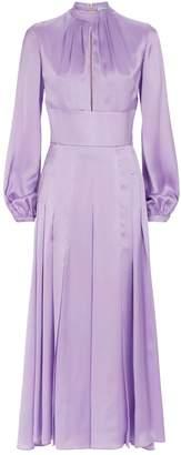 Raquel Diniz Alma Silk Midi Dress