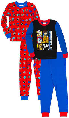 Lego Boys Fall 18 Sleepwear 4-pc. Pajama Set Boys