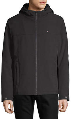 Tommy Hilfiger Sherpa Soft Shell Hooded Jacket