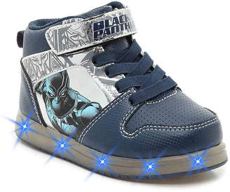 Marvel Avengers Black Panther Toddler & Youth Light-Up High-Top Sneaker - Boy's