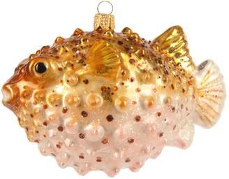 Harrods Puffer Fish Decoration