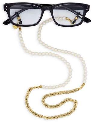 Corinne McCormack Faux-Pearl Glasses Chain, 29""