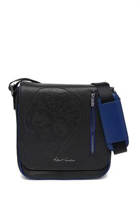 Robert Graham Silvero Perforated Messenger Bag