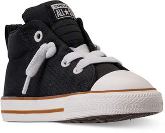 f781e1d004b3 Converse Toddler Boys  Chuck Taylor All Star Street Casual Sneakers from  Finish Line