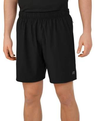 """Russell Men's Performance 7"""" Inseam Stretch Woven 2-in-1 Shorts with Boxer Liner"""
