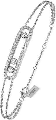 Möve Messika Baby Pave Two-Strand Diamond Bracelet