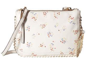 Jessica Simpson Camile Double Top Zip Crossbody Cross Body Handbags