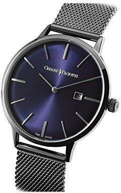 Cesare Paciotti Man 's Watch – ウィリアム・Blu - tsst129
