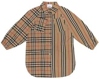 Burberry Cotton-poplin shirt dress