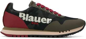 Blauer Denver panelled sneakers