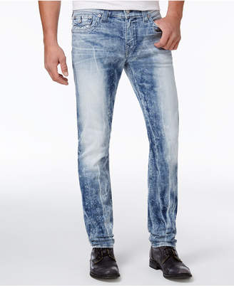 True Religion Men's Rocco Flap-Pocket Skinny Fit Stretch Jeans