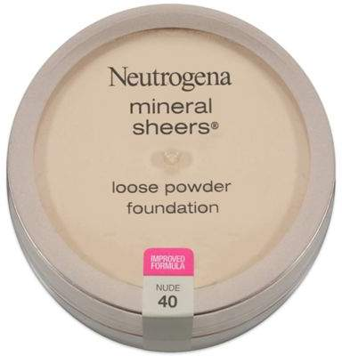 Neutrogena Mineral Sheers .19 oz. Loose Powder Foundation in Nude 40