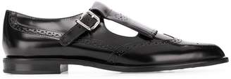 Tod's side-buckle brogues