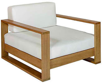 Southern Komfort Bed Swings Percy Club Chair - White/Natural Sunbrella