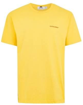 Topman Mens Yellow 'Your Place' T-Shirt