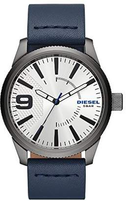 Diesel Men's 'Rasp NSBB' Quartz Stainless Steel and Leather Casual Watch