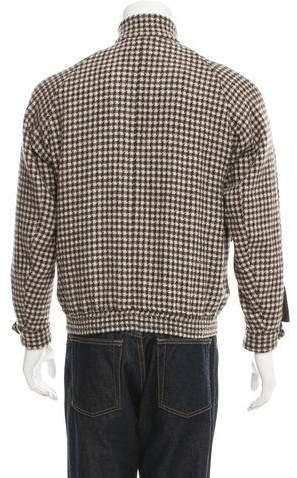 Haver Sack Wool Check Blouson