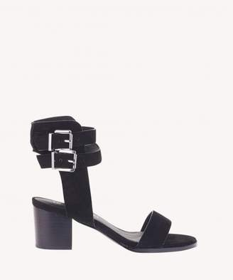 Sole Society Porter Heel II Double Ankle Strap Sandal