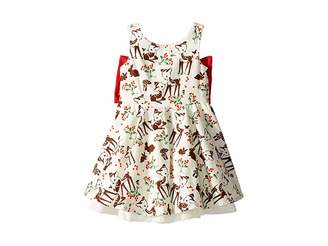 fiveloaves twofish Little Party Little Deer Dress (Toddler/Little Kids/Big Kids)
