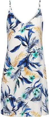 Tart Collections Tashi Floral-print Modal-blend Jersey Mini Dress