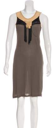 Viktor & Rolf Sleeveless Silk Dress