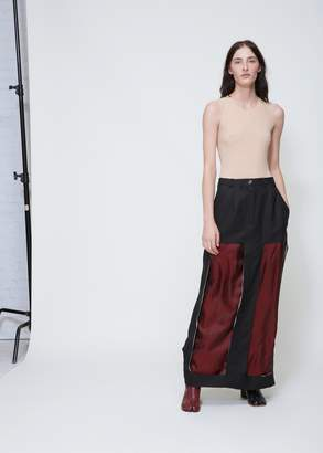 Maison Margiela Decortique Long Skirt