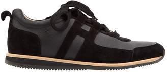 Hermes Kool Black Leather Trainers