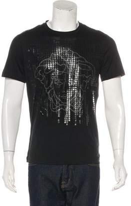 Versace Embellished Medusa T-Shirt