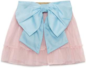 Gucci Children's tulle skirt with bow