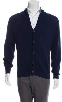 Brunello Cucinelli Rib knit Shawl collar Sweater