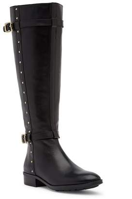 Vince Camuto Preselen Leather Tall Boot - Wide Calf