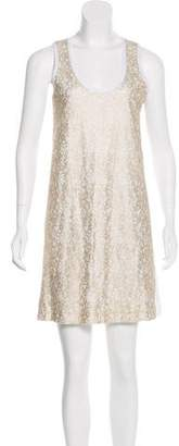 See by Chloe Lace-Accented Mini Dress