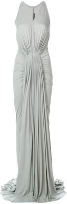Rick Owens Lilies draped evening dress