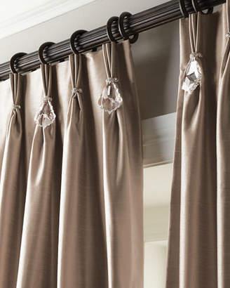 """Parker 6009 Each 132""""L Pinch-Pleat Curtain"""