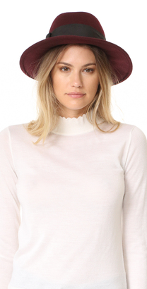 Kate Spade New York Fedora with Grosgrain Bow $108 thestylecure.com