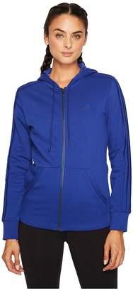adidas Essentials Cotton Fleece 3S Full Zip Hoodie Women's Sweatshirt