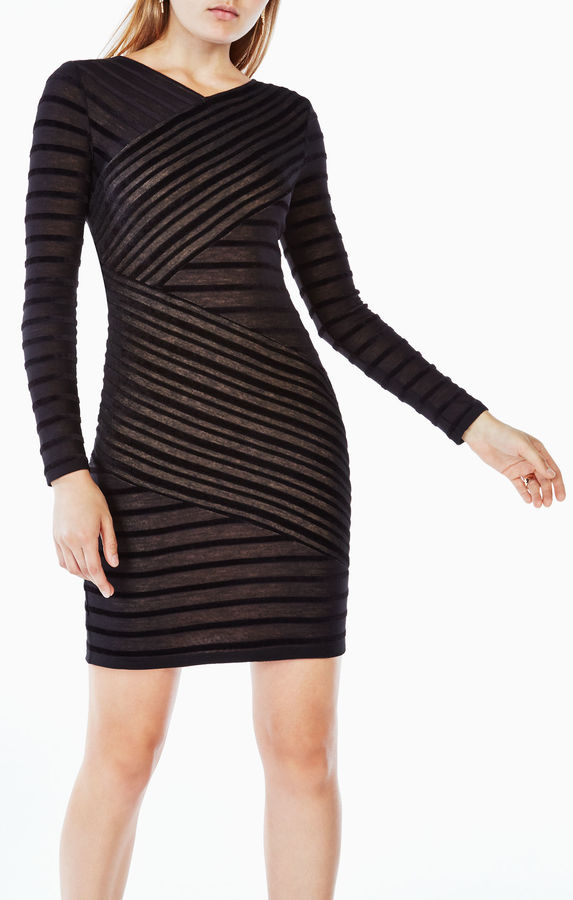 BCBGMAXAZRIAJerri Striped Dress