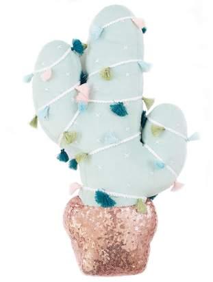 Lauren Conrad Cactus Christmas Throw Pillow