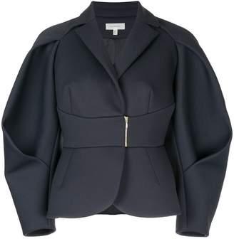 DELPOZO structured balloon sleeve jacket