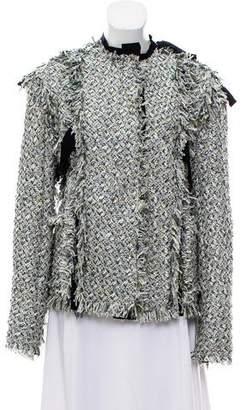 Lanvin Metallic Bouclé Jacket