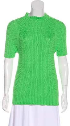 Pre-Owned at TheRealReal � Polo Ralph Lauren Short Sleeve Knit Top
