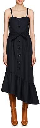 Derek Lam 10 Crosby Women's Cotton Poplin Tiered Maxi Dress