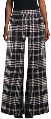 Anna Sui Women's Wide Leg Tarten Pants