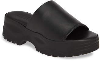 Topshop Volt Platform Slide Sandal