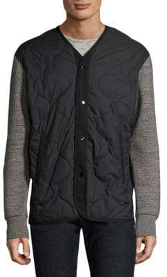 Rag & Bone O-Fleece Alpha Heather Jacket